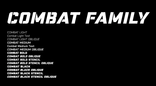 Combat Family By Gus Nicklos for Herenow Creative. Client Nike Brand Design: Art Direction Jacob Wilkinson & Everett Vangsnes