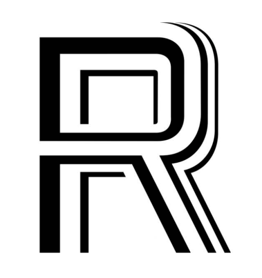 The Letter R - 4 weights overlapping