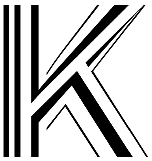 The Letter K - 4 weights overlapping