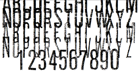 An in progress shot of Keen 2 , a typeface that I am designing for Keen Footwear